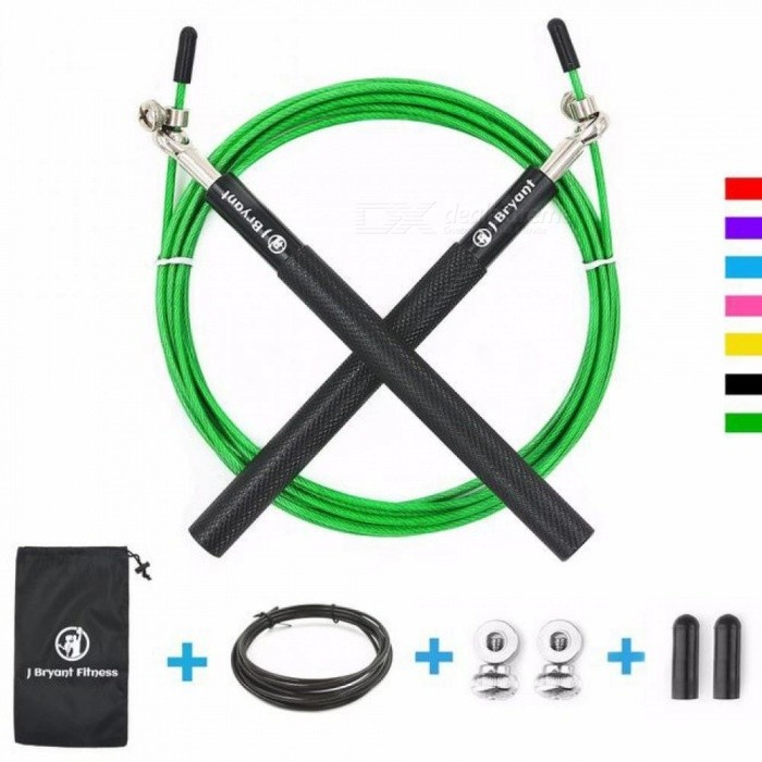 Speed-Jump-Rope-Professional-Skipping-Rope-for-MMA-Boxing-Fitness-Skip-Workout-Training-with-Carrying-Bag-Spare-Cable-Gold