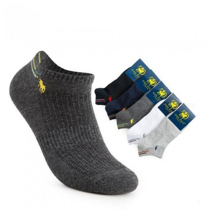 Special Harajuku Men's Standard Compression Socks Spring and Summer New Pier Polo Cotton Sock Men Casual Ankle Short Socks Ankle Short Socks