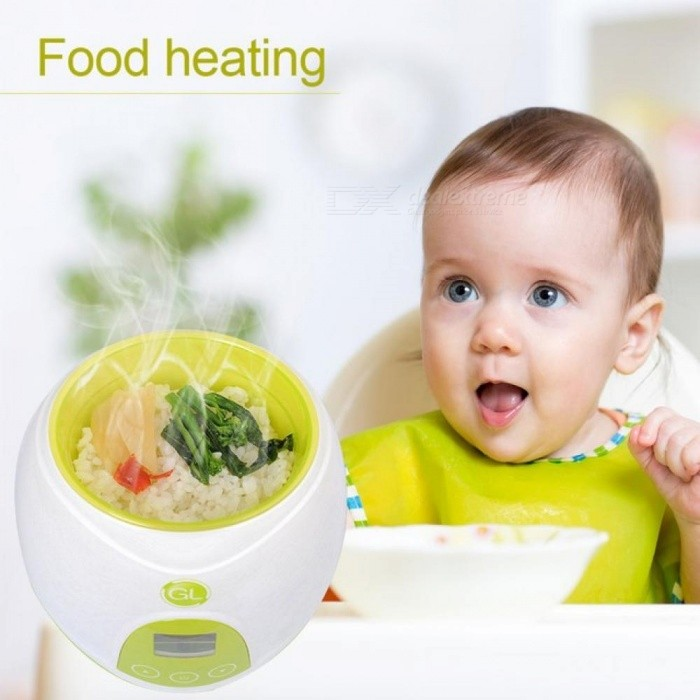 Baby-Milk-Heater-Milker-Warmer-Baby-Bottle-Heater-In-Warmers-Sterilizers-With-Baby-Bowl-24-Hour-Constant-Temperature-US-Plug-Green-color