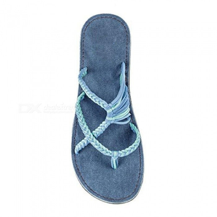 Flip-Flops-Sandals-For-Women-New-Summer-Shoes-Slippers-Female-Fashion-Shoe-beach-Shoe-Slippers-With-Blue-Color-45Blue