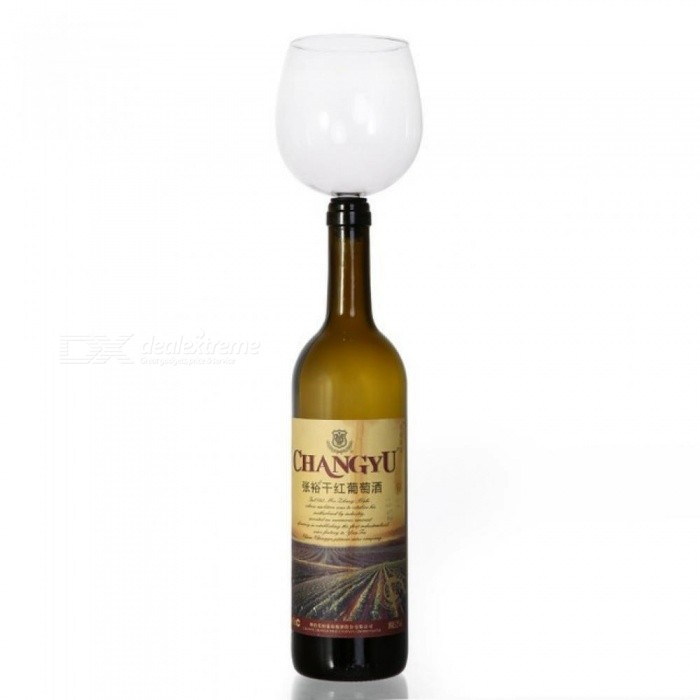 Buy Drinking Wine Glass Of Wine Bar Tools Wine Stopper It Turns Bottle Of Wine Into Glasses Capacity 401-500ml M7S/M7S with Litecoins with Free Shipping on Gipsybee.com