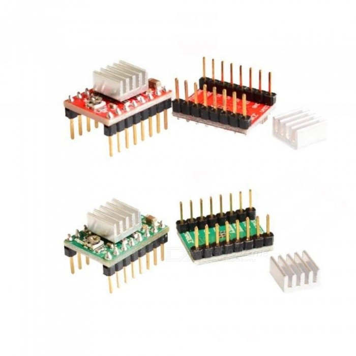 5pcs/lot Reprap Stepper Driver A4988 Stepper Motor-Driver Module Motor Type: Stepper Motor Tool Parts