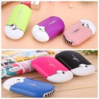 Mini-Portable-Hand-Held-Desk-Air-Conditioner-Humidification-Cooler-Cooling-Fan-Multi-Colors-For-Option-Red