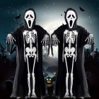 Halloween-Costume-Skull-Skeleton-Demon-Ghost-Cosplay-Costumes-Adults-Children-Kids-Carnival-Masquerade-Dress-Robes-Scary-Mask-for-adults