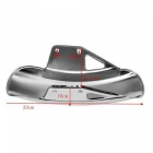 Motorcycle Mud Flaps Front Fender Flares Mudguard Fairing Mudguards Cover For Suzuki GN125 GN250 Silver Color Plating