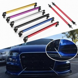 2x-Universal-200mm-Adjustable-Front-Rear-Bumper-Lip-Splitter-Rod-Support-Bars-Red-Silver-Gold-Three-Color-Optional-Gold