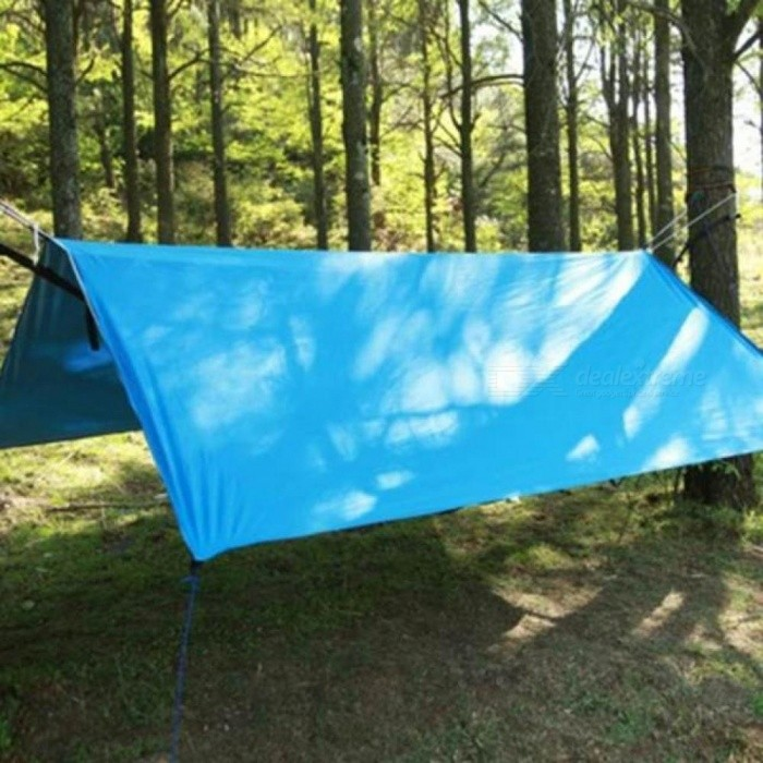 Large Sun Shelter Tent Waterproof Awning Hiking Portable Canopy Outdoor Gazebo Camping Tent 3*3m Big Size Tarp Tent