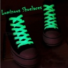 Sport Luminous Shoelace Glow In The Dark Night Color Fluorescent Shoelace Athletic Sports Flat Shoe Laces Hot Selling 1 Pair 120 Blue