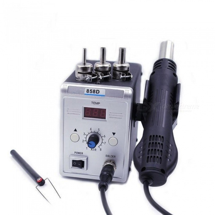Domestic-Service-858D-Soldering-Desoldering-Station-Hot-Air-Rework-Gun2b3-Nozzles2b1-IC-Stick-LED-Digital-Display-110V