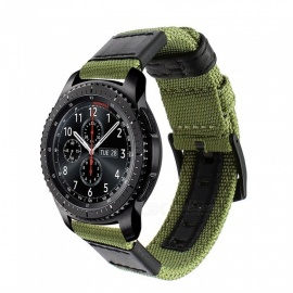 Genuine-Nylon-2b-Leather-Watchband-for-Samsung-Gear-S3-Classic-Frontier-Quick-Release-Watch-Band-Canvas-Strap-Wrist-Belt-Bracelet-22mm