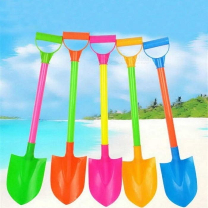 Buy Funny Snow Shovel Toys Kids Plastic Beach Toy Plastic Material Spade Model Mold Random Color For 1 Pieces Plastic with Litecoins with Free Shipping on Gipsybee.com