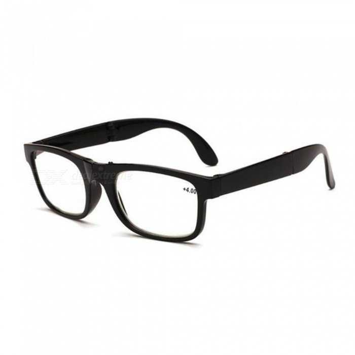 Buy Unisex Foldable Reading Glasses Folded Hanging +1 +1.5 +2 +2.5 +3 +3.5 +4.0 Presbyopic Eyeglasses Full Frame +100 with Litecoins with Free Shipping on Gipsybee.com
