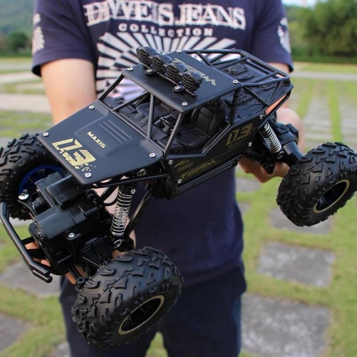 RC Car 1/12 4WD Rock Crawlers 4x4 Driving Car Double Motors Drive Bigfoot Car Remote Control Car Model Off-Road Vehicle Toy
