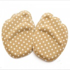 Forefoot Insoles Shoes Sponge Pads High Heel Soft Insert Anti-Slip Foot Protection Pain Relief Women Shoes Insert Black Dots
