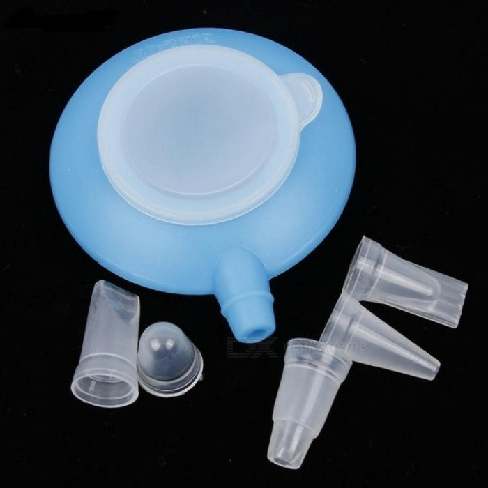 Silicone Pot With 4 Nozzles Kit Baking Pen For Cookie Cream Muffin Dessert Cake Decorating Tools Squeezing Nozzles Blue