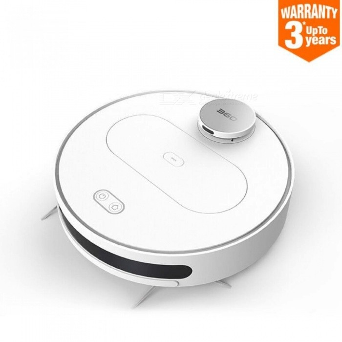 S6 Robot Vacuum Cleaner for Home Automatic Sweeping Dust Sterilize Laser Scanning Smart Planned Washing Mopping US/White