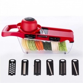 Mandoline-Slicer-Vegetable-Cutter-with-Stainless-Steel-Blade-Manual-Potato-Peeler-Carrot-Cheese-Grater-Dicer-Kitchen-Tool-Red