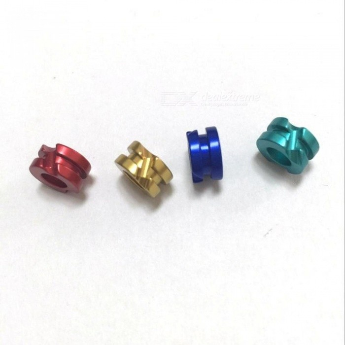 Archery Aluminum Peep Sight for Compound Bow Size,1/8quot 3/16quot,Red / Blue / Gold / Green Bow Accessories thumbnail