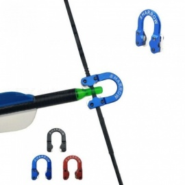 Arrow-Accessories-D-Loop-Metal-D-Ring-Buckle-Rope-Imports-Of-Aerospace-Aluminum-A-Compound-Bow-Accessories