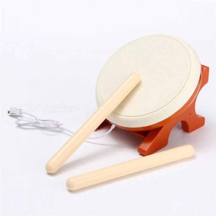 For Taiko No Tatsujin Video Game Drum Sticks Set for Nintendo for Wii Remote Controller Console Gaming  Accessories Set