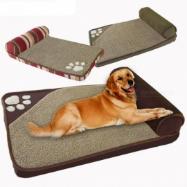 Dog-Beds-for-Large-Dogs-House-Sofa-Kennel-Square-Pillow-Husky-Labrador-Teddy-Large-Dogs-Cat-House-Beds-Mat-60x35cmBlue