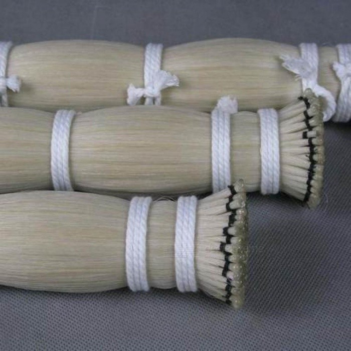 250G-AAA-Violin-Viola-Cello-Mongolia-Natural-White-Color-Bow-Hair-Horse-Tail-Hair-Length-Size-For-94-CM-94cm