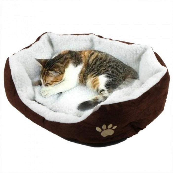 50*40cm-Comfortable-and-Soft-Cat-Bed-Mini-House-for-Cat-Pet-Dog-Sofa-Bed-Good-Products-for-Puppy-Cat-Pet-Dog-Supplies-50X40cmBlue