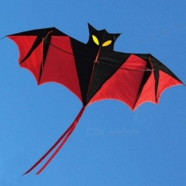 18-M-Red-Bat-Power-Kite-Resin-Rod-With-Kite-Handle-And-Line-Good-Flying-Bat-Design-With-Black-Red-Color-Kite-Without-Line