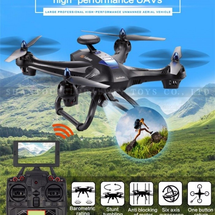 Global Drone X183 Professional Altitude Hold Helicopter Wifi FPV RC Quadrocopter with Camera HD 1080P 4K Drones VS MJX Bugs 3 X8 BK without Camera