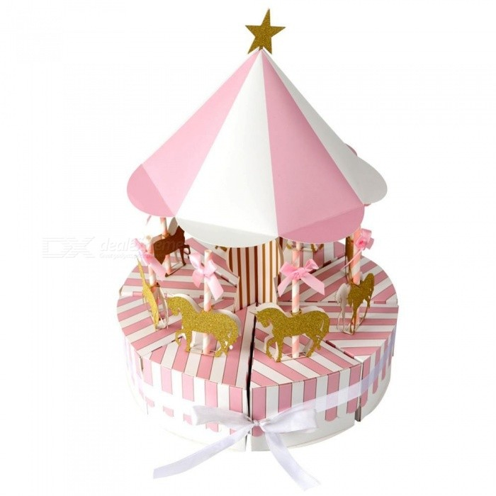 Carousel-Paper-Gift-Box-Wedding-Favors-and-Gifts-Unicorn-Party-Baby-Shower-Candy-Box-Birthday-Party-Decorations-Kids-Blue