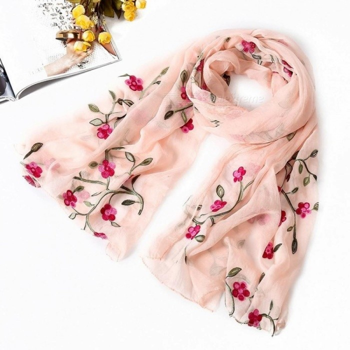 5fd962e29 Women Scarf Spring Summer Silk Scarves Shawls and Wraps Lady Pashmina Beach  Stoles Hijab Foulard Polyester