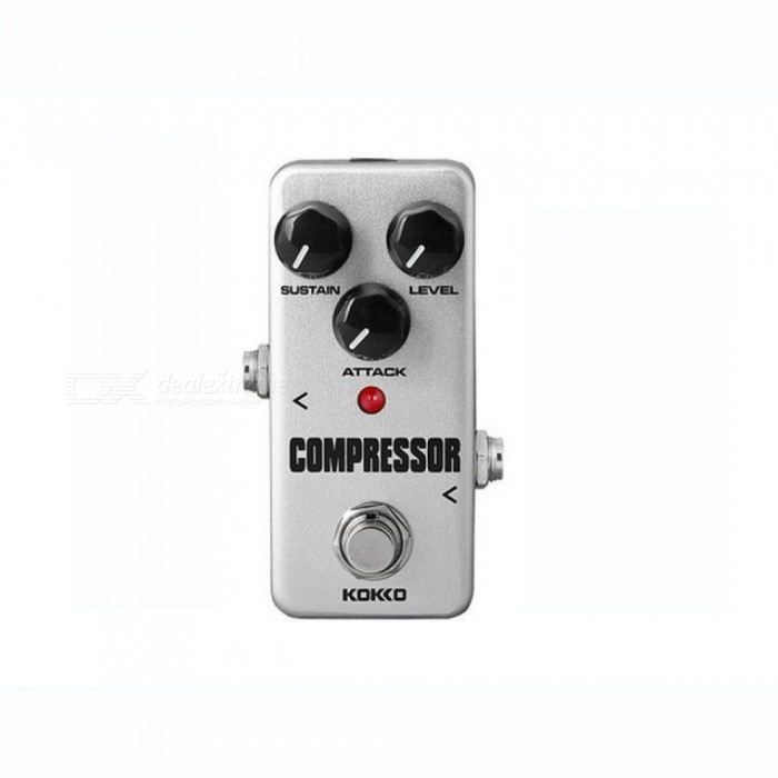 Compressor-Guitar-Effects-Mini-Effect-Pedal-Sustain-Attack-Level-Control-True-Bypass-Aluminum-Alloy-Material-A