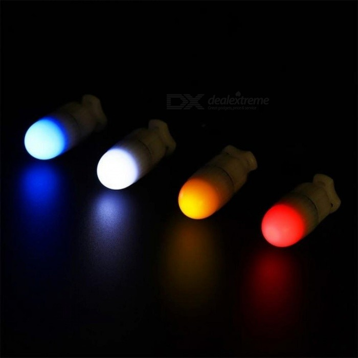 Mini Underwater Lights 5 Colors Night Dive Marker Warning Signal Light Underwater Diving Strobe LED Safe Signal Light 0-5W/Blue