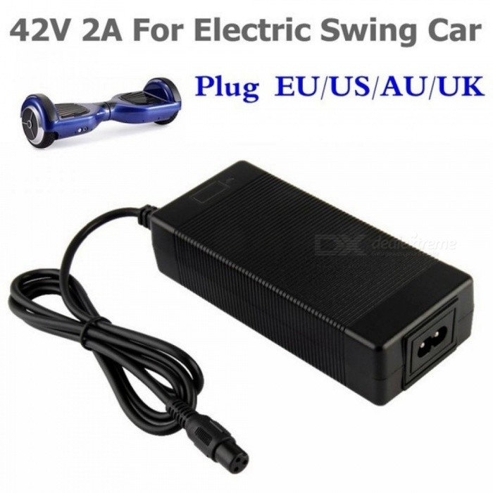 42V 2A Universal Battery Charger for Hoverboard Smart Balance Wheel 36v electric power scooter Adapter Charger EU/US/AU/UK Plug US