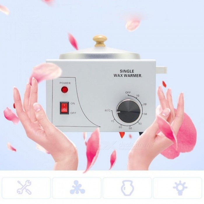 Wax-Warmer-Epilator-Single-Pot-Paraffin-Heater-Warmer-Depilatory-Machine-Wax-Therapy-Instrument-Hair-Removal-Depilation-EU-Plug
