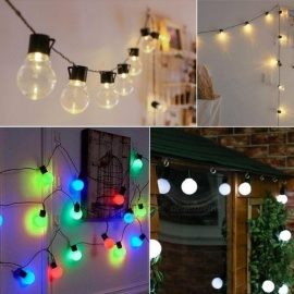 Lights & Lighting Humor 10m 100 Led String Light Balls Twinkle Garland Lights Christmas Wedding Party Festival Lantern Decoration Lighting Eu Plug Jq