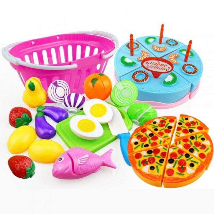 Children-Kitchen-Pretend-Play-Toys-Cutting-Fruit-Vegetable-Food-Miniature-Play-Do-House-Education-Toy-Gift-for-Girl-Kid-11pcs-With-Pizza