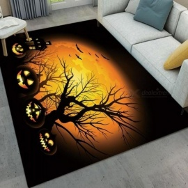 Original Halloween Road Light Pumpkin Lamps Childrens Room Floor Area Rugs Bedroom Cushion Living Room Carpets Bathroom Non-slip Mat Bathroom Products