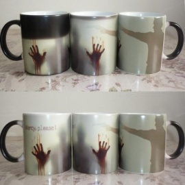 Arrive-Mercy-Please-The-Walking-Dead-Mugs-Morphing-Coffee-Mugs-Zombie-Mug-Novelty-Heat-Changing-Color-Mug-Cup-Color-Changing-Mug
