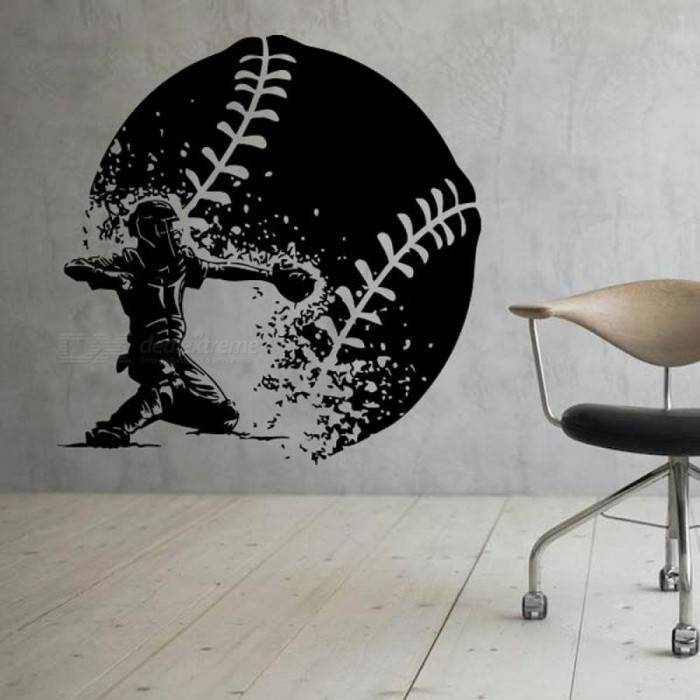 Ink Baseball Wall Vinyl Decal Sports Stickers Art Design Murals ...