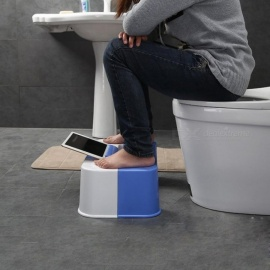 No Slip Toilet Foot Stool Potty Stool Squat Crotch Hole Folding Toilet Stool Squat Potty Stool Phone Holder Design Phone Holder Design