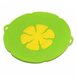 Flower Silicone Boil-Over Spill Lid Stopper Cookware Parts Kitchen Gadgets Cooking Pot Lids Utensil   Red