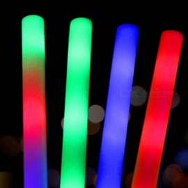Foam Glow-Sticks Color Glow Stick Safe Light Stick Necklace Bracelets Fluorescent For Event Festive Party Supplies Concert Decor A