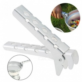 Outdoor Cookware Dinner Flatware Anti-Hot Camping Pot Pan Gripper Holder Panhandler Pot Lifter Holder Gripper For Cookware Pan Handler