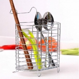 Hanging Drain Tableware Storage Rack Chopsticks Cutlery Holder Container Kitchen Organizer Accessories Supplies Gear A