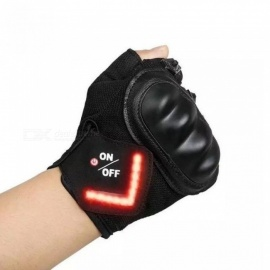 With-LED-turn-signal-Motorcycle-Gloves-Outdoor-Sports-Full-Finger-Knight-Riding-Motorbike-Motorcycle-Gloves-Motocross-MBlack