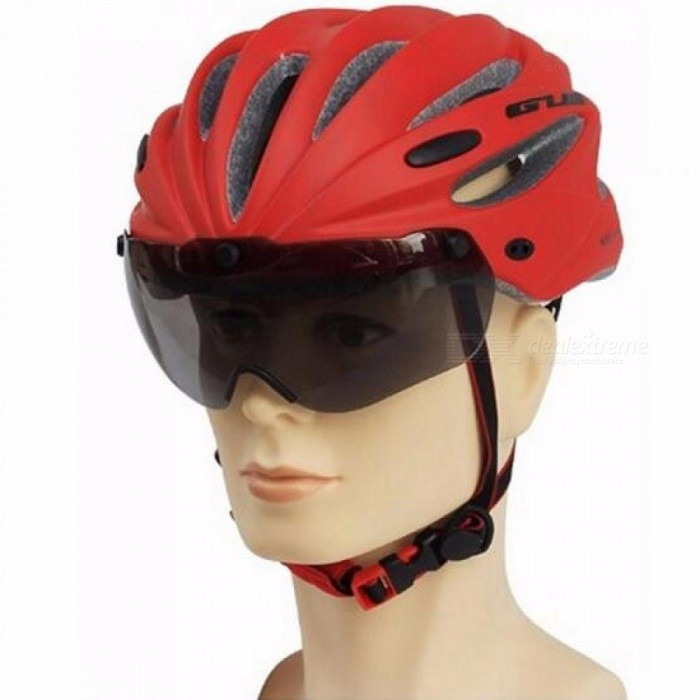 GUB 3 Colors UV400 Bike Bicycle Cycling Helmet Goggles or Glasses Gafas Ciclismo Polycarbonate Gender: Unisex 65g