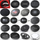 Newest Fuel Tank Cover Gas Lid Filler Cap Metal ABS For Jeep Wrangler Jk For Jeep Wrangler JK 2007 UP Silver