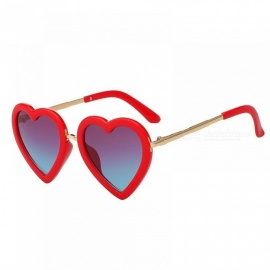 f191c1be4f1 Children Kids Sunglasses Fashion Heart Shaped Cute UV400 Designer Frame  Eyewear Baby Girls Sunglasses Sun Glasses. 2 Color Available