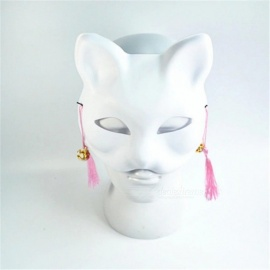 White Classic Cat Mask Colorful Fashion Cosplay Costume Masks for Women Men Wedding Birthday Masquerade Party Accessories White